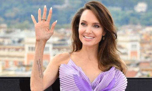Angelina Jolie's dinner look is totally unexpected - and we're obsessed