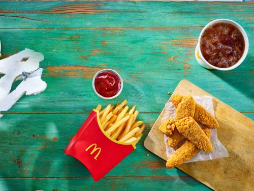 McDonald's is launching their first ever fully vegan meal
