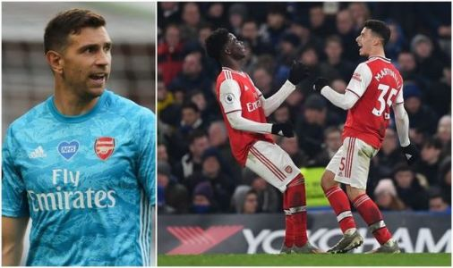 Arsenal ace Emiliano Martinez names two Gunners stars who can be 'the best' in the world