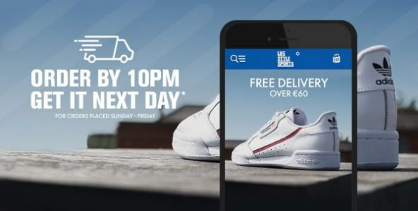Next Day Delivery EXTENDED to 10PM!