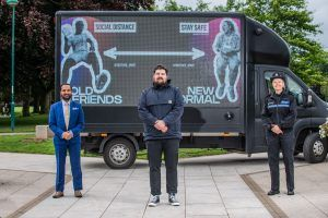 Social distancing artwork showcased across Coventry