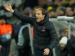 PSG boss Thomas Tuchel defends switch to 4-3-3 formation after 2-1 defeat to Borussia Dortmund