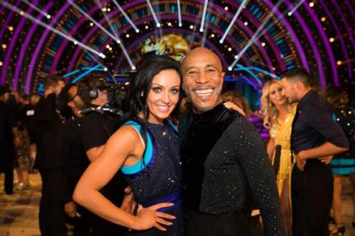 Strictly partners Danny John-Jules and Amy Dowden have made up after their falling out