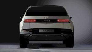New 2021 Ioniq 5 electric SUV teased with striking concept car design