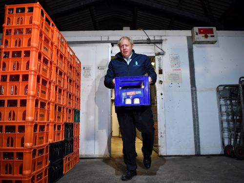 Boris Johnson's Election Campaign Goes From Oven-Ready to Fridge-Cold