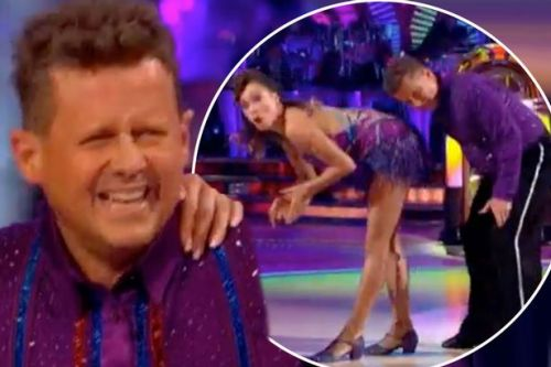 Strictly's Mike Bushell lets slip Katya Jones has been texting him in bed