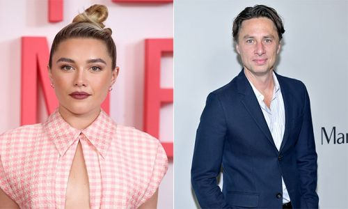 Little Women's Florence Pugh, 24, forced to defend romance with Zach Braff, 45, after going public on Instagram