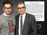 Dan and Eugene Levy confirm the upcoming sixth season of Schitt's Creek will be the last