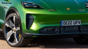 New 2022 Porsche Macan EV spied for the very first time