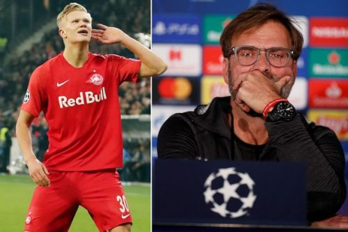 Jurgen Klopp lauds Erling Haaland ahead of Liverpool clash with Red Bull Salzburg