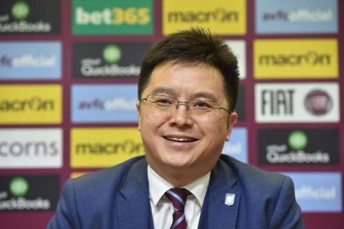 Former Aston Villa owner Tony Xia responds after arrest warrant issued in China