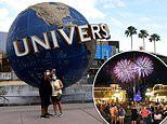 Universal Studios Orlando to reopen some of its hotels NEXT WEEK but Disney World to reopen July 11