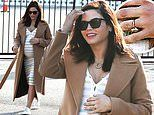 Jenna Dewan can't stop smiling as she flashes her dazzling engagement ring from fiance Steve Kazee