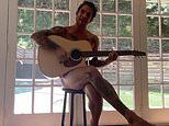 Teen Wolf star Tyler Posey joins OnlyFans and shares teaser video where he plays guitar in the NUDE