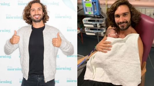 Joe Wicks' wife Rosie welcomes second child three weeks early as Body Coach star shares first picture