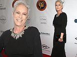 Jamie Lee Curtis is elegant at Society Of Camera Operators Awards in LA as she receives an award