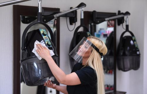 Beauty salons, nail bars and tattoo shops reopen for first time in four months