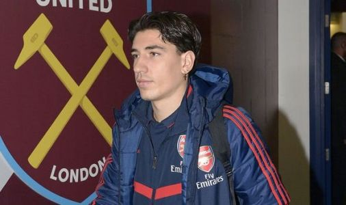 Arsenal star Hector Bellerin picks up injury in warm up before West Ham - Fans are fuming