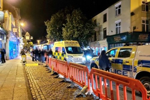 Fury as '300 Leicester revellers defy lockdown and invade market town for pint'