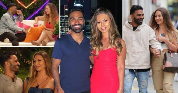 Love Island's Nas Majeed and Eva Zapico announce they're 'officially a couple'