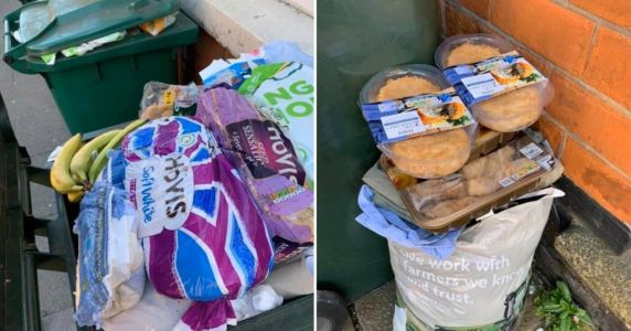 Fury at wasted food piles while NHS workers struggle to get vital supplies