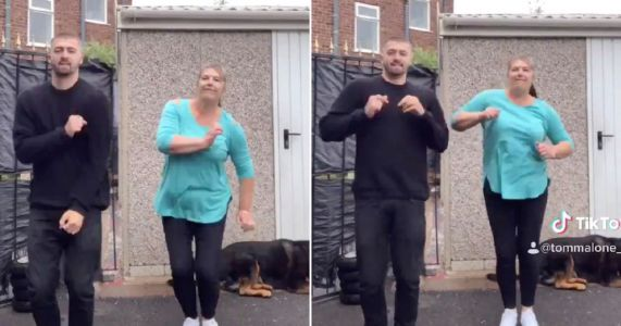 Gogglebox family The Malones return to TikTok and mum Julie smashes epic dance routine to Sean Paul's Breathe