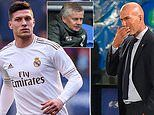 Real Madrid boss Zinedine Zidane not ruling out loan exit of Manchester United target Luka Jovic