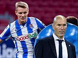 Martin Odegaard 'set to end two-year Real Sociedad loan early' and return to Madrid'