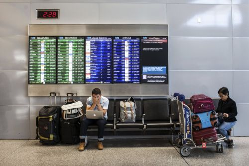 Passengers slept on the floor of JFK when the airline didn't put them up during an 18-hour delay - but your credit card can keep that from happening to you