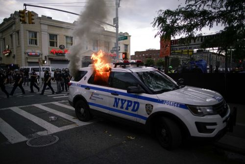 New York city introduces curfew and increases police numbers amid George Floyd protests