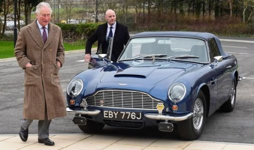 Prince Charles leaves audience in hysterics after 'terrible bosh' at Aston Martin factory