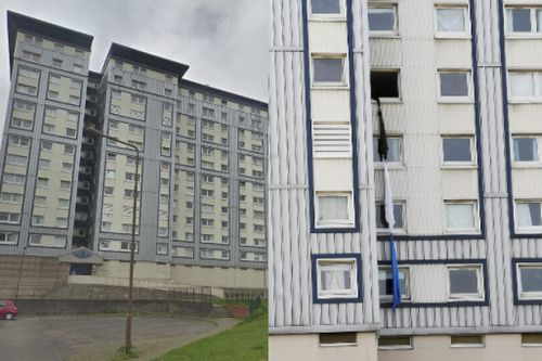 Edinburgh flat plunge victim used knotted sheets in desperate escape bid