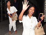 Maya Jama puts on a VERY jubilant display after wrapping filming for Save Our Summer