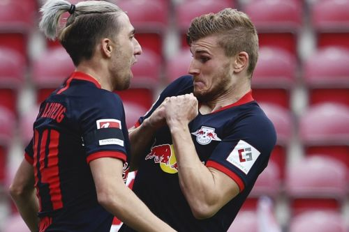 Timo Werner hits Bundesliga hat-trick after 'virtual meeting' with Jurgen Klopp