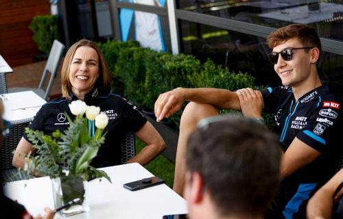 Williams questioned her role as deputy team principal