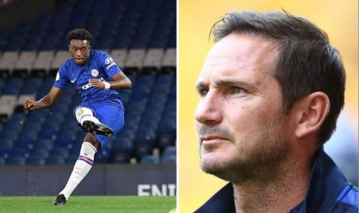 Chelsea boss Frank Lampard gives Callum Hudson Odoi return update ahead of Valencia tie