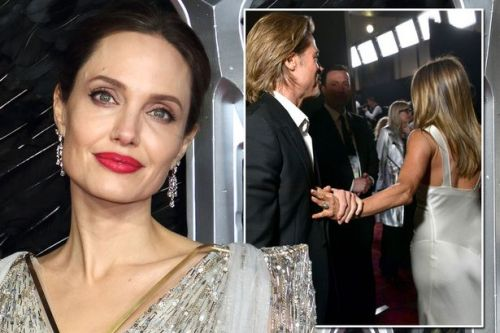Angelina Jolie 'doesn't care about Jennifer Aniston and Brad Pitt's reunion'