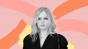Ellie Bamber on liquid eyeliner, keeping her skin calm and the best highlighter on the planet