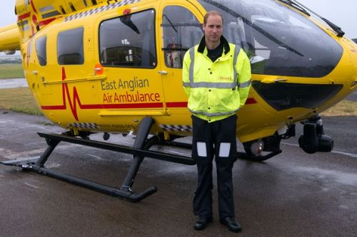 Prince William 'wants to return as air ambulance pilot' to help amid coronavirus