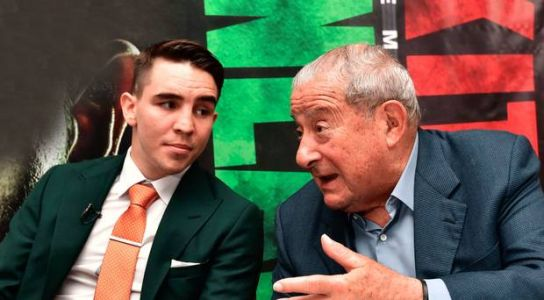 Michael Conlan's promoter Bob Arum says he 'gets a kick' out of IRA songs at fights