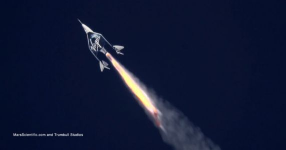 Virgin Galactic's real goal may be point-to-point travel around Earth