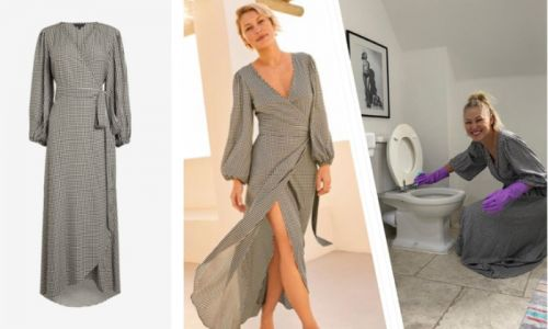 Emma Willis loves her new summer dress so much she wore it to clean the loo during lockdown