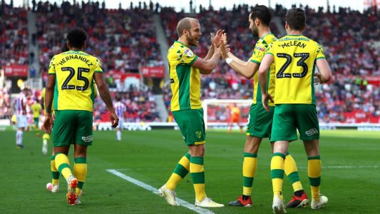 Norwich all but promoted to Premier League after draw vs. Stoke