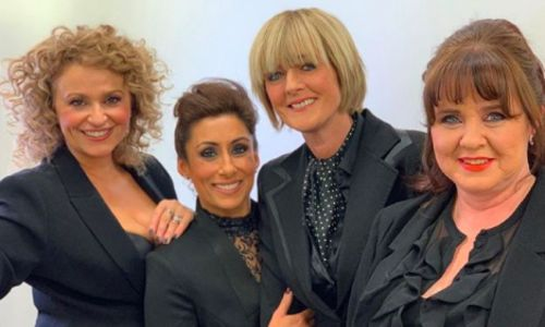 Loose Women stars wear tuxedo suits at the NTAs for a powerful reason