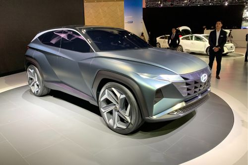 Hyundai Vision T plug-in hybrid SUV concept launched