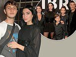 Dua Lipa cosies up to boyfriend Anwar Hadid as she is supported by her family at YSL launch bash