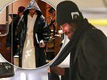 Keanu Reeves, 55, looks cozy in a robe as he films next installment of The Matrix in San Francisco