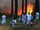 Rose Ladies Series final suspended as fire breaks out at Wentworth