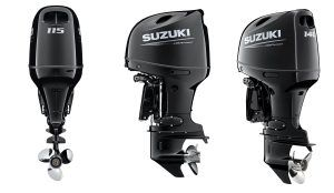 Suzuki launches first 115hp and 140hp drive by wire outboard engines