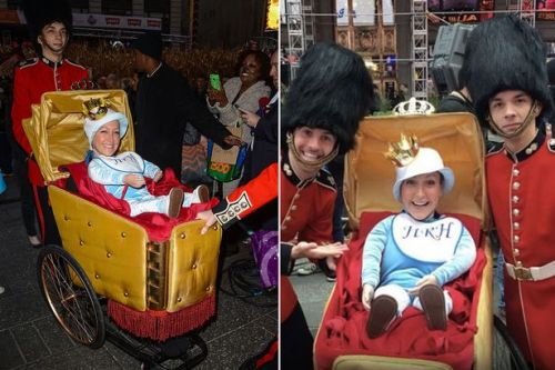 Good Morning America host who mocked Prince George dressed as royal for Halloween